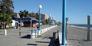 The boulevard of Torrox Costa