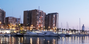 Muello Uno cruise terminal boulevard