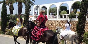 Romeria San Isidro parade