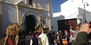 San Sebastian procession in Competa