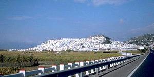 View on Salobreña village